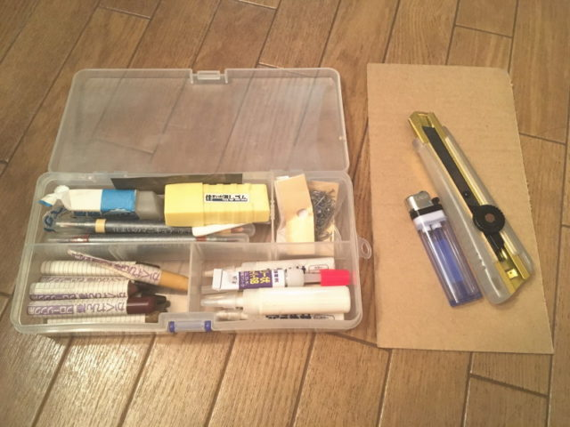 収納マンの家具補修7つ道具