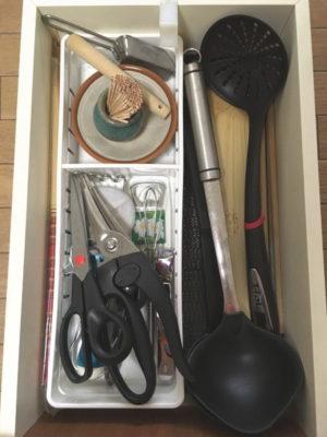 我が家のキッチンの引出しbefore