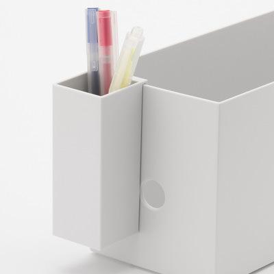 無印良品とカインズのファイルボックスをくらべてみた