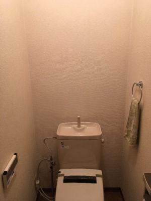 我が家のトイレの壁面(before)