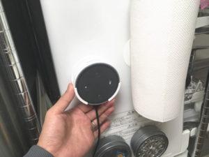 Echo Dot@食洗機側面