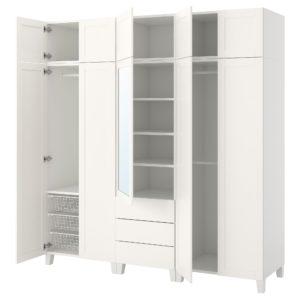 IKEA・PLATSA プラッツァ ワードローブ