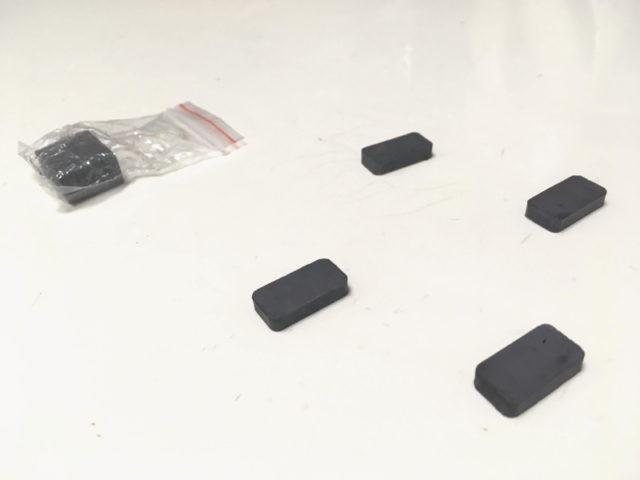 ワコートレーディング・レンジフード用フィルターE-3580付属の磁石