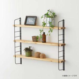 平安伸銅工業・Weekend Workshop シェルフフレーム +パイン集成材棚板