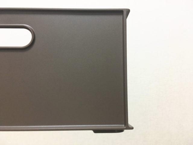Nインボックスの角は鉄骨のような形状