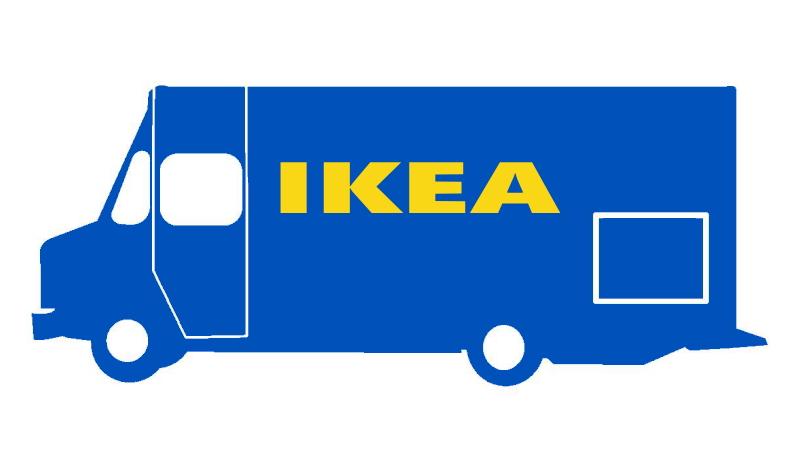 IKEAトラック・イメージ