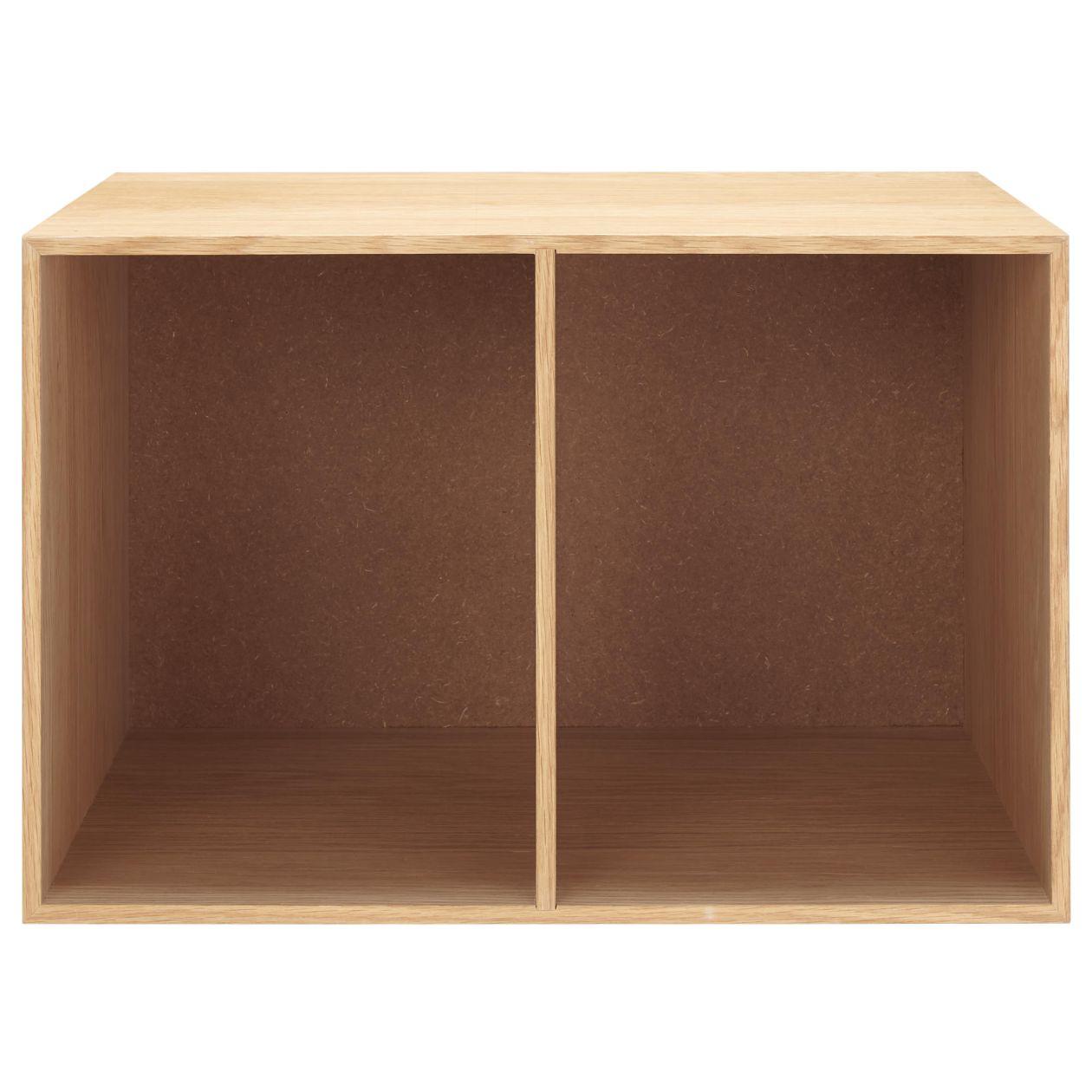 無印良品・木製収納ケース・オープン・ワイド・オーク材