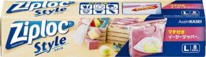 旭化成ホームプロダクツ・ ジップロック スタイル マチ付き イージージッパー L