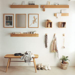 無印良品・壁に付けられる家具