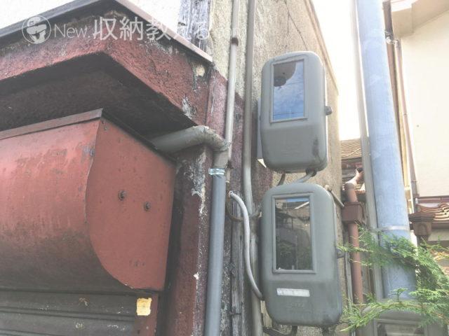 電気回線の撤去工事