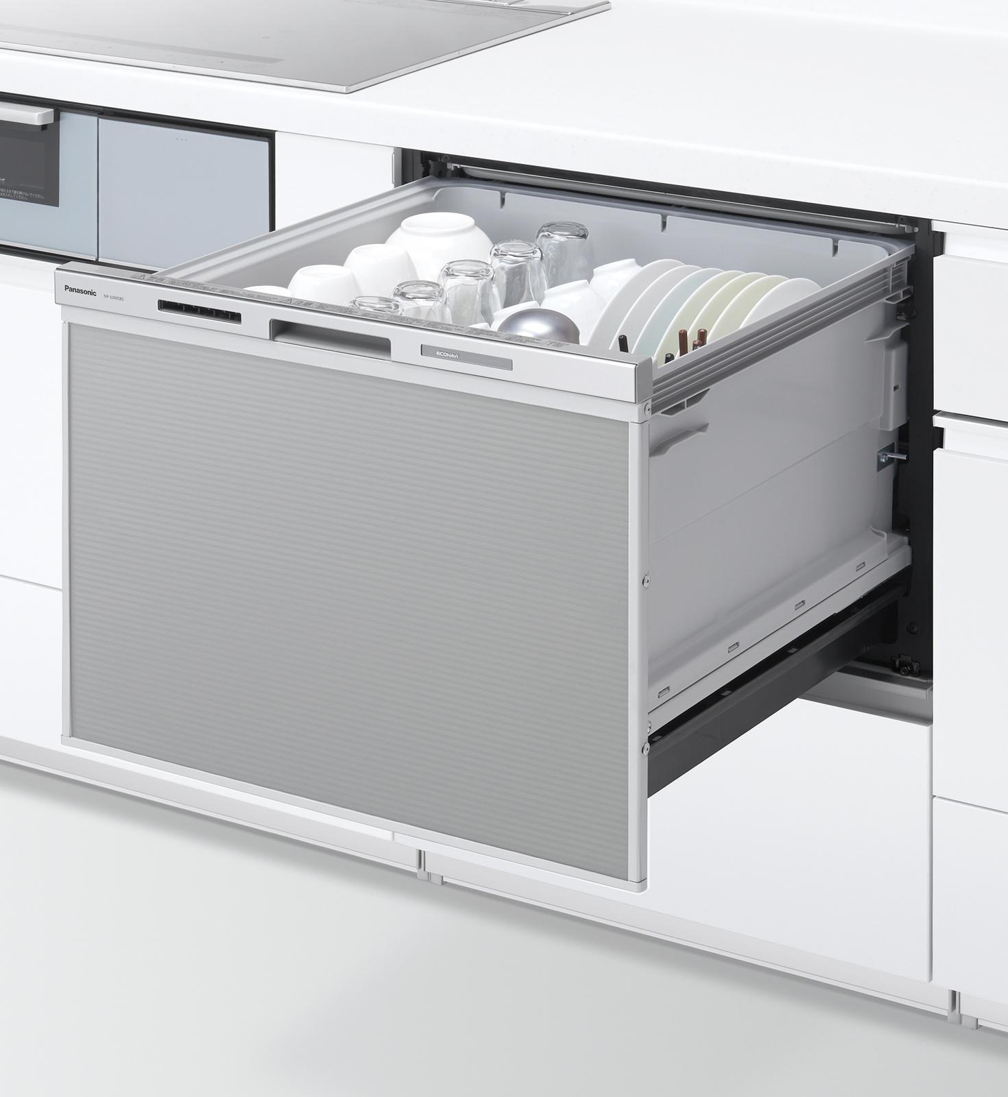 パナソニック・ビルトイン食器洗い乾燥機 【ワイドタイプ】NP-60MS8S