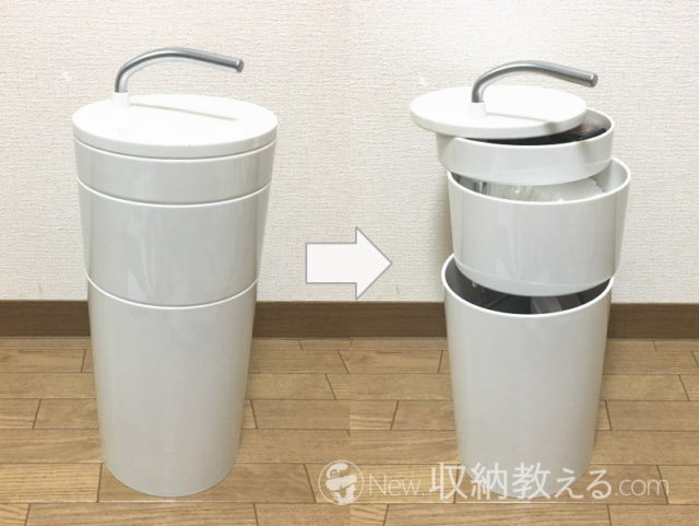 ideaco・TRINITY(トリニティ) コスメティック オーガナイザー
