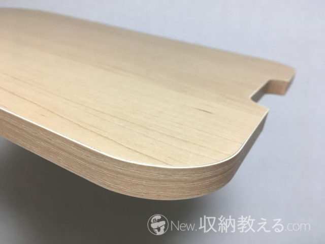 天板の表面材は強化プリント紙