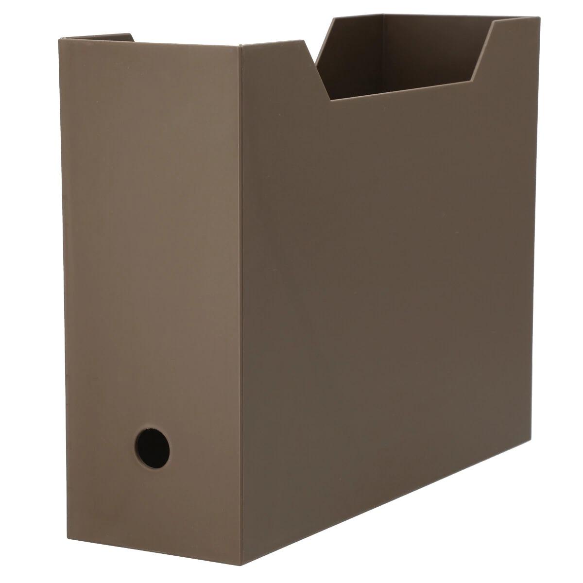 ニトリ「A4ファイルケース・オールブラウン」