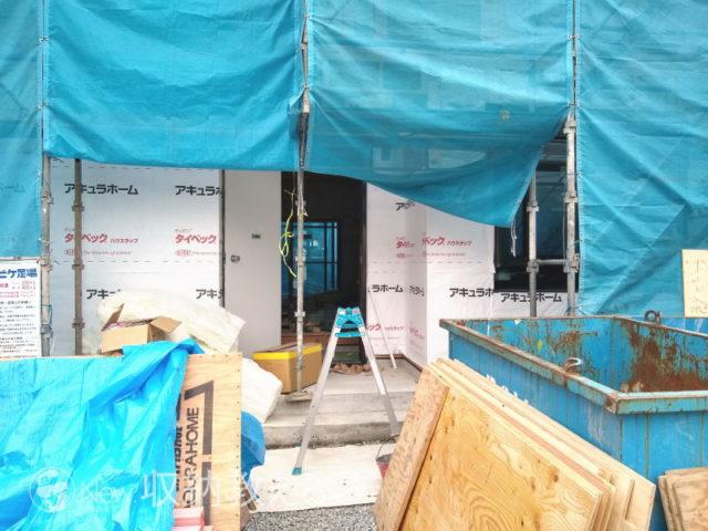 2020年1月22日 防水シート・窓施工