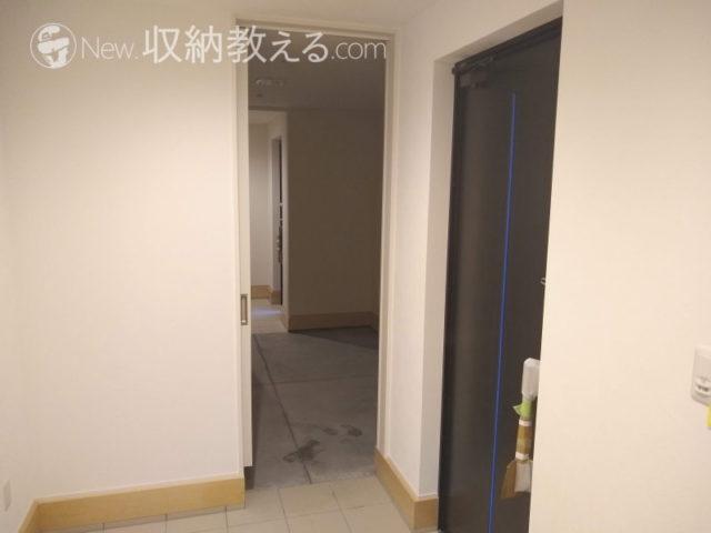 玄関横の土間収納