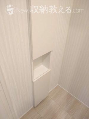 トイレにもアキュラホームオリジナル収納