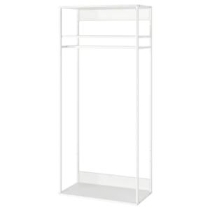 IKEA・PLATSA プラッツァ オープンハンガーユニット, ホワイト, 80x40x180 cm