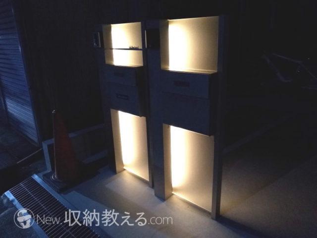 YKKap ルシアスBP02演出照明タイプ