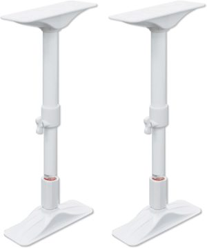 平安伸銅工業・家具転倒防止突っ張り棒 ホワイト 取付高さ50~75cm REQ-50