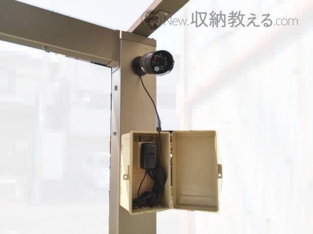 カメラ(WHC7M2-C)はコンセントに繋ぐだけ