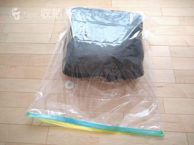 Mサイズなら毛布は6つ折りで2枚が妥当