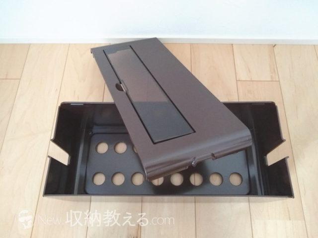 節電タップ対応の窓付き