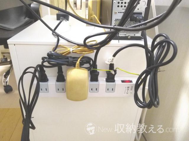 サンワサプライ・雷ガードタップ10個口・2P 1m ホワイト TAP-SP2110-1