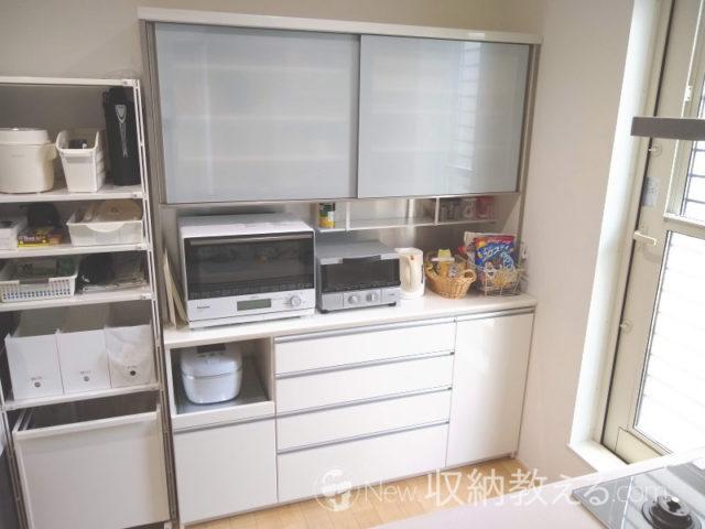パモウナの食器棚VZL-1600R