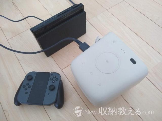HDMIケーブルでGS2にニンテンドーSwitchを接続