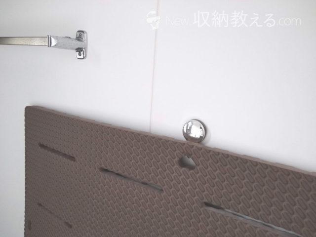 レック・お風呂の壁にマグネットフック
