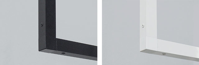 森田アルミ工業「kacu」はアルミ押出成型の25mm角パイプ