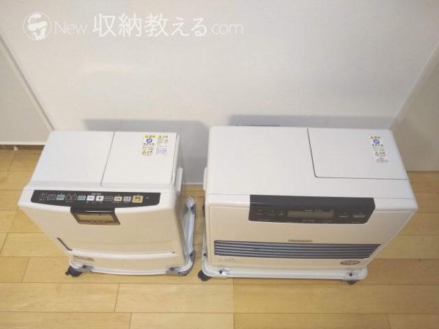 コロナ「FH-VX3615BY-W」とダイニチ「FW-72DX4-W」を比較