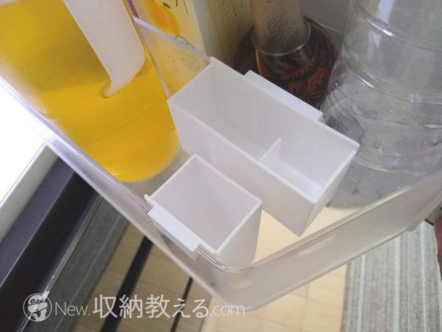 冷蔵庫のドアポケットでも使えないことはない