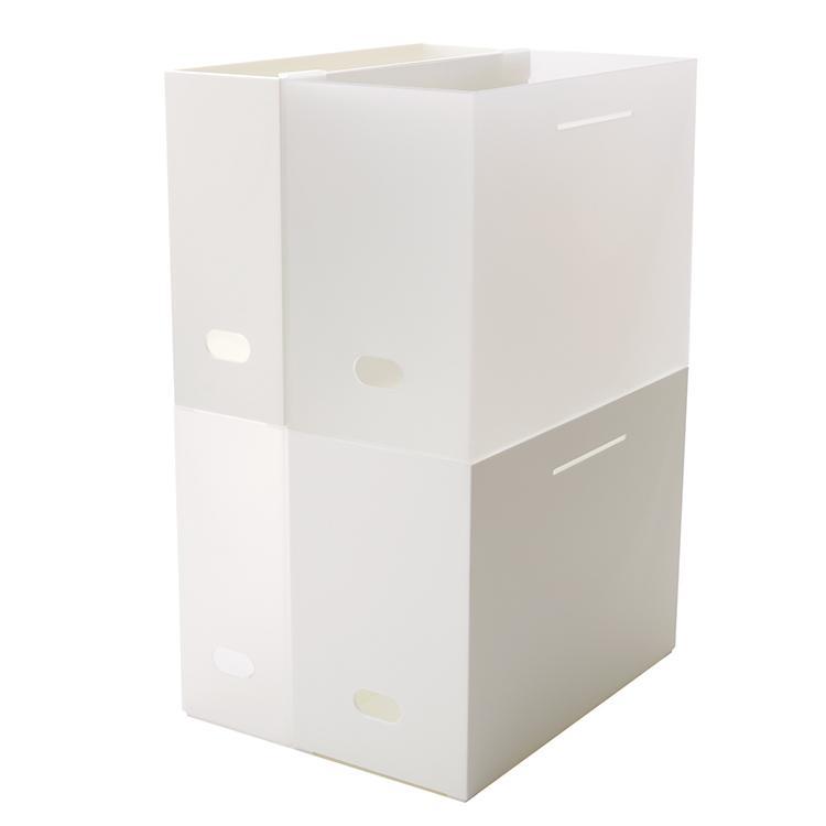 イオン・トップバリュ・ホームコーディ「積み重ねできるファイルボックス」
