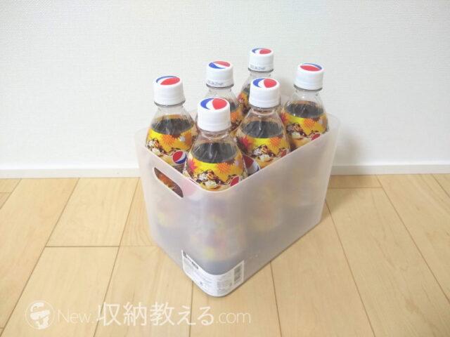 ダイソー・積み重ね収納ボックス 大・深型(収納A073 No.9)4984355715924使用例