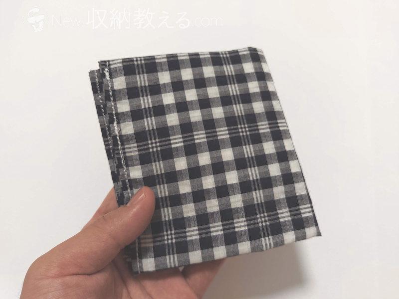 みほつ姫・ハンカチエコバッグNavy-check