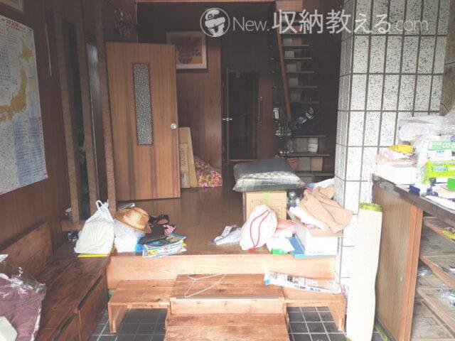 築50年のゴミ屋敷を約一ヶ月で空き家にする方法【1】玄関から片づける