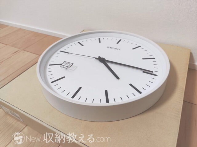 セイコー・掛け時計 セイコー電波時計 パワーデザインKX308W