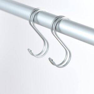 SORO:U ステンレス ダブル S字フック Lサイズ 2個入 (耐荷重9kg) 18-8ステンレス製