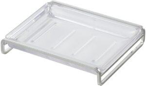 SORO:U ステンレス 石けん皿 置き型 (抗菌トレー) 外せる受け皿