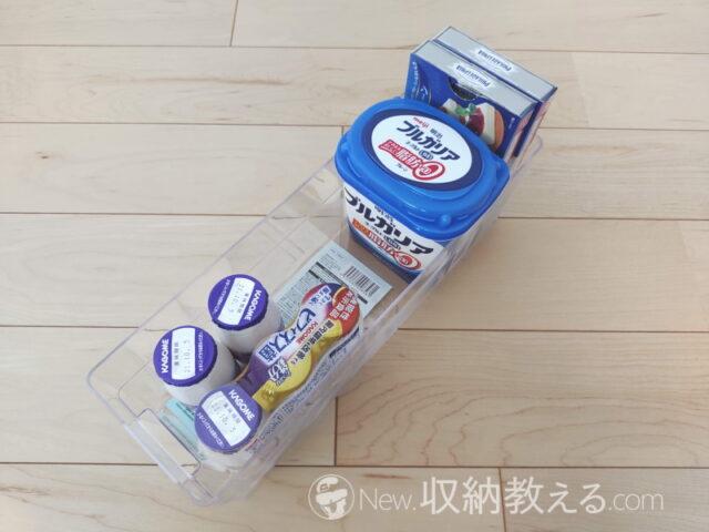 ダイソー・冷蔵庫用収納ケース キッチンプラNo.351 4550480008561 320×104×100